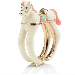 Kate Spade unicorn ring.